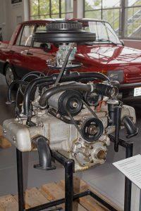Prototyp Boxermotor B 11 in der Automobilen Welt Eisenach