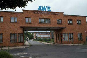 Werkstor des AWE in Eisenach