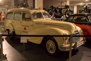 EMW 340-4 Krankenwagen im Fahrzeugmuseum Suhl