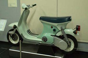 Prototyp Kleinroller KR 52im Fahrzeugmuseum Suhl