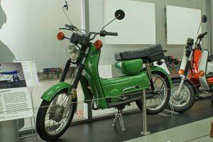 Prototyp Kleinroller mit 16 Zoll-Rädern, Fahrzeugmuseum Suhl