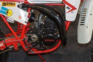 MotorSimson GS 80 WKH mit Membran-Einlassim Fahrzeugmuseum Suhl