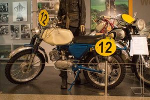 Simson GS 75 Kleinserieim Fahrzeugmuseum Suhl