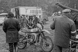 """Simson GS bei """"Rund um Zschopau"""" 1981, Foto: D. Kleiner"""