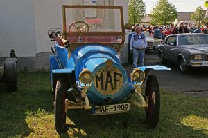 MAF Baujahr 1909 der Markranstädter Automobilfabrik
