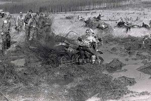 Schlamm ohne Endeim Riesengebirge, Six Days in Jelena Gora, VR Polen, 1987
