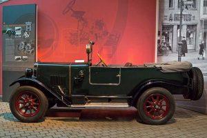 Wanderer W 8, 5/20 PS Phaeton, Baujahr 1926, im August Horch Museum Zwickau