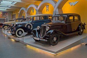 Wanderer W 21 Limousine, Baujahr 1933, im August Horch Museum Zwickau