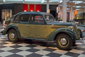 Wanderer W 24 Limousine, Baujahr 1937, im August Horch Museum Zwickau