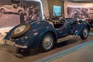 Wanderer W 25 K Roadster,Baujahr 1936, im August Horch Museum Zwickau