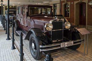 Wanderer W 11 Limousine 50 PS, Baujahr 1931,im August Horch Museum Zwickau