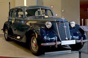 Wanderer W 23 Limousine, Baujahr 1938, im August Horch Museum Zwickau