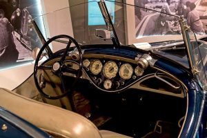 Wanderer W 25 K Roadster Detail Armaturenbrett, Baujahr 1936,im August Horch Museum Zwickau