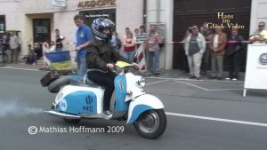 "Video: Motorroller ""Berlin"" bei der ""Curbici Veterano"""