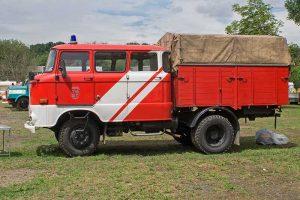 W 50 L mit langer Kabine, so wie sie vor allem bei der Deutschen Post und dem Energiekombinat zum Einsatz kam.